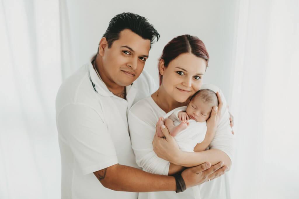 Familienbilder Frankfurt Familienbild mit Baby